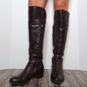 Vince Camuto Shoes - VINCE CAMUTO Bollo Knee High Studded Buckle Boots